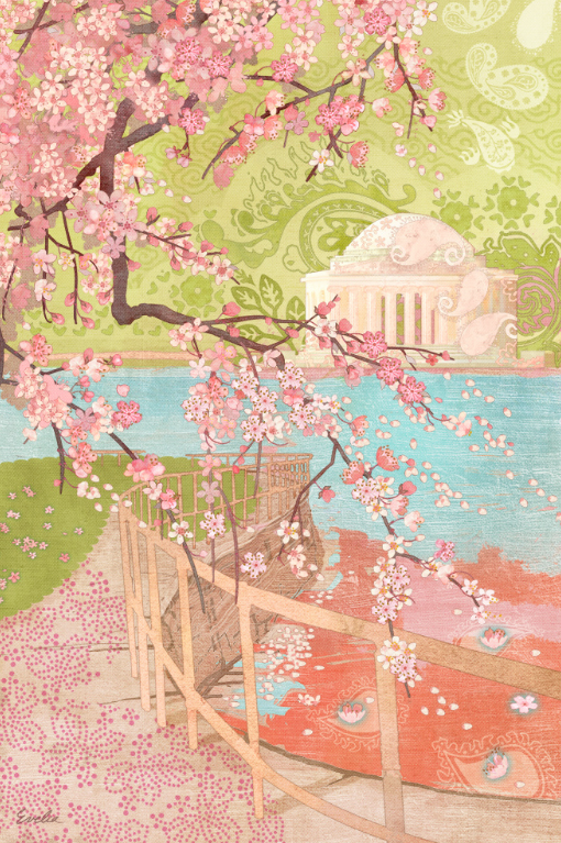 IT'S CHERRY BLOSSOM TIME